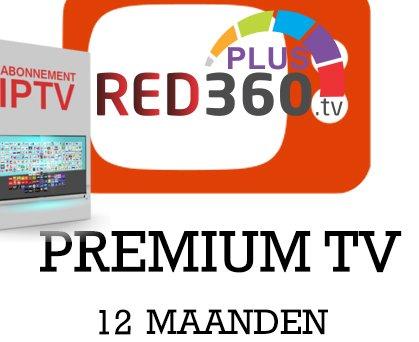 RED 360 Mega nieuwe code voor 12 maanden premium IPTV